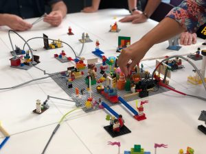 A LEGO SERIOUS PLAY session in action